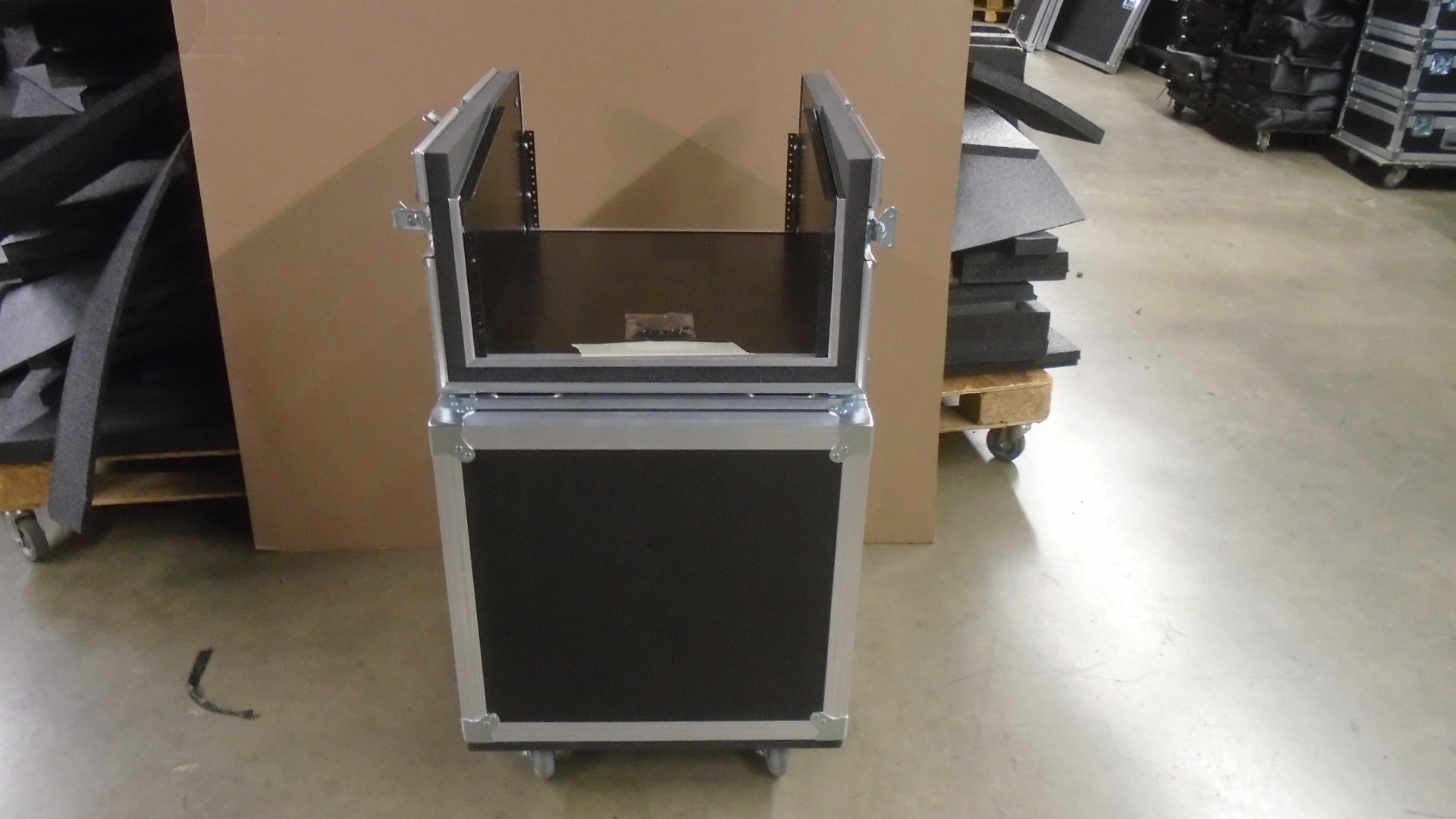Print # 7732 - Custom Road Case for PreSonus StudioLive 16 Channel Digital Audio Mixer By Nelson Case Corp