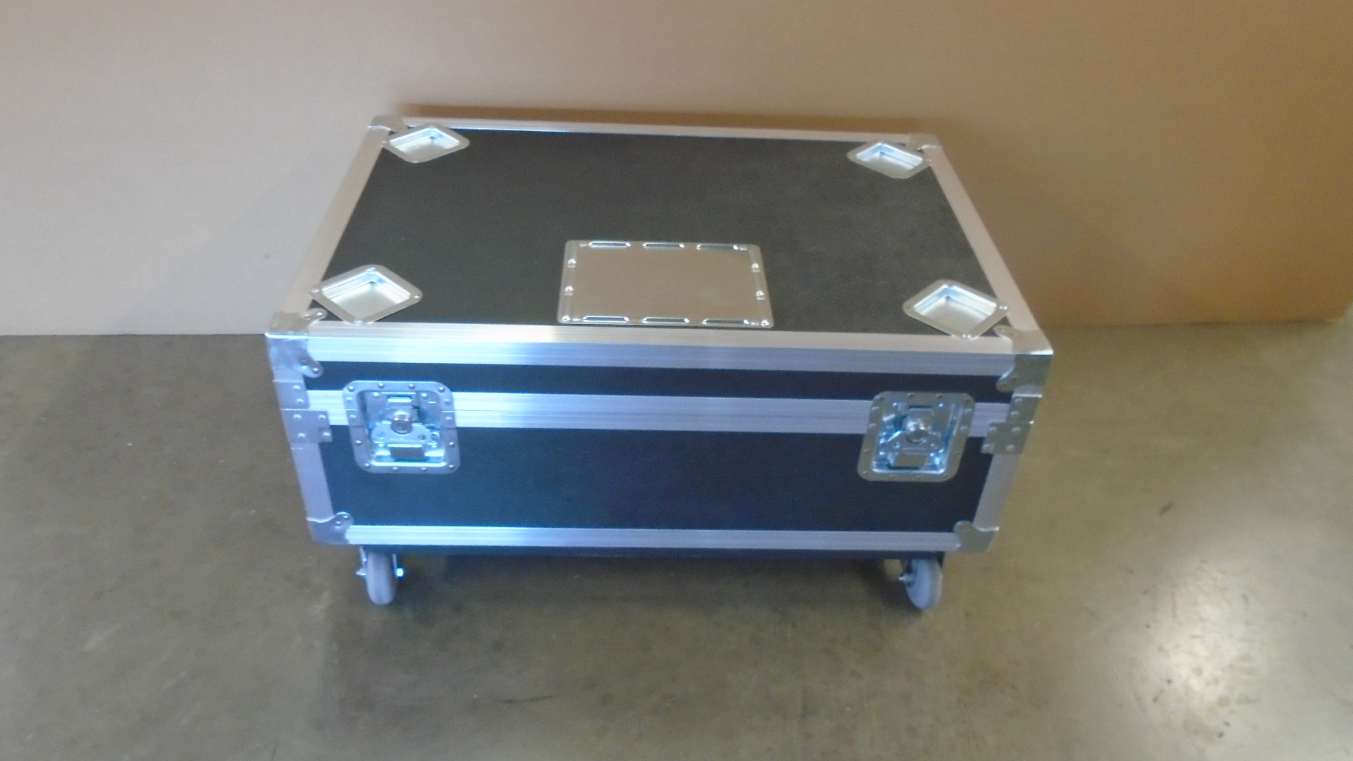 Print # 7756 - Custom Road Case for Panasonic PT-RZ660BU Projector Kit with Generic Lens Compartment  By Nelson Case Corp